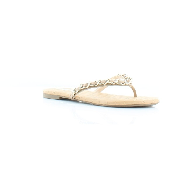 INC International Concepts Maceo Women's Sandals Dark Almond - 5