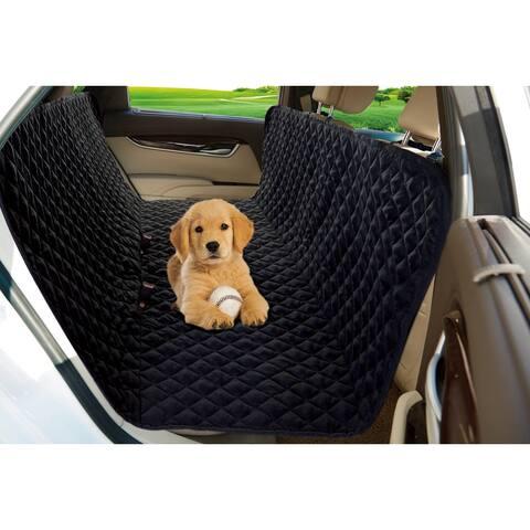 "Lauren Taylor - Car seat Protector - Black - 58x58"""