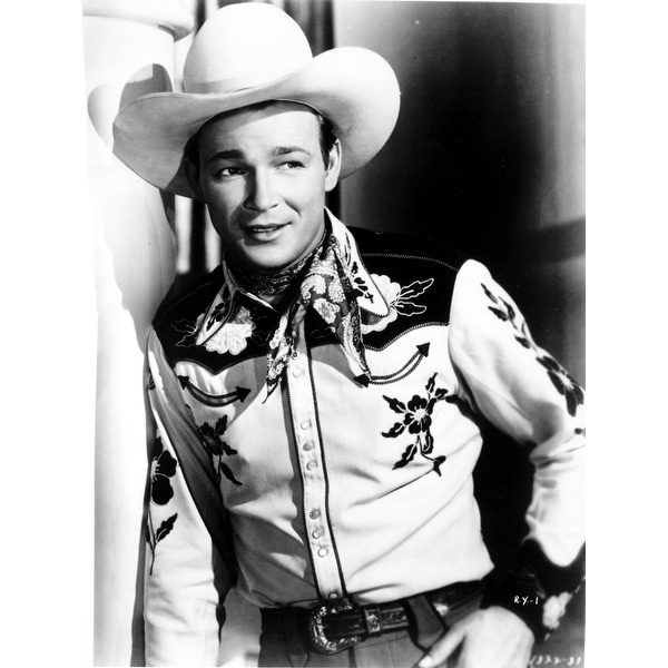 Shop Roy Rogers in a cowboy hat Photo Print - Free Shipping On Orders Over   45 - Overstock.com - 25389811 fcb7b87462c