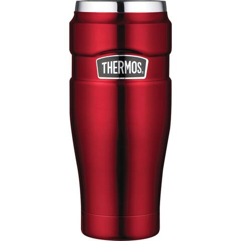 Thermos Stainless King 16-Ounce Travel Tumbler (Cranberry)