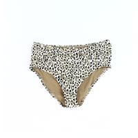 Tommy Bahama Brown Womens Size Large L High Waist Bikini Bottom