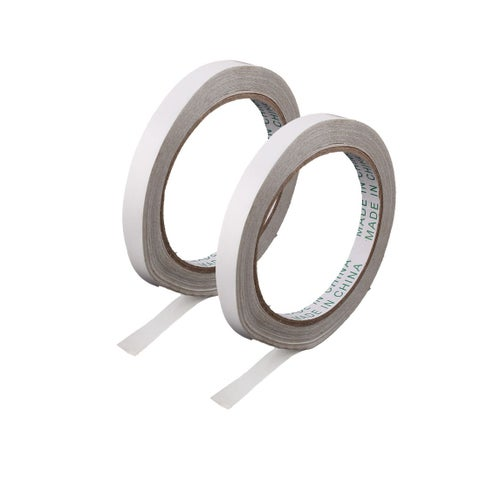 Office Paper Stationery Double Sided Adhesive Tape Sticky 10mm Width 2pcs