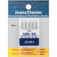 Size 16/100 5/Pkg - Klasse Jeans/Denim Machine Needles