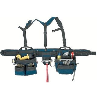 CLC 6714 Combo Rig Heavy Duty Tool Belt Lift System, 5""