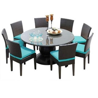 Miseno MPF-NAPA60KIT8C Wine Country 9-Piece Aluminum Framed Outdoor Dining Set w (3 options available)