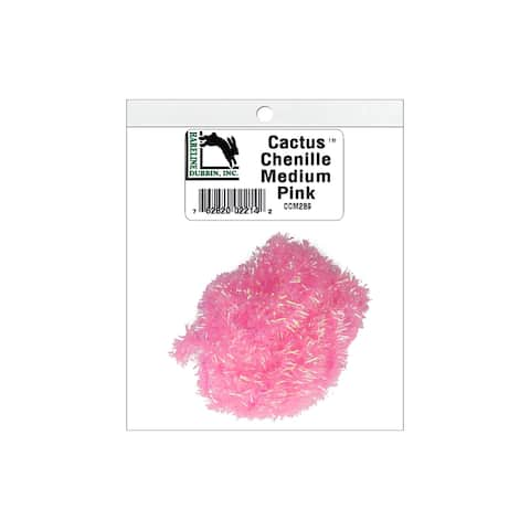 Ccm289 hareline cactus chenille med pink
