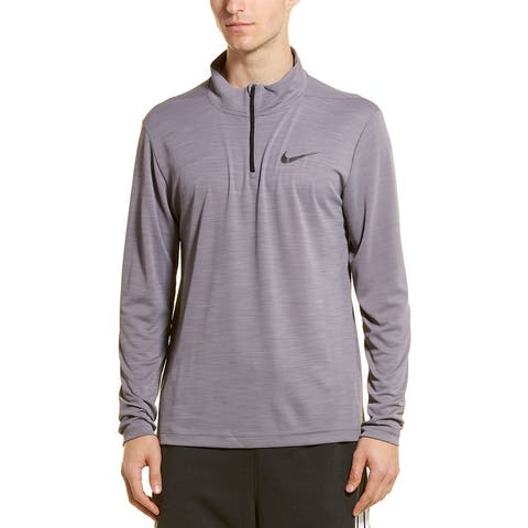 Nike Superset Pullover - 056 GUNSMOKE/BLACK
