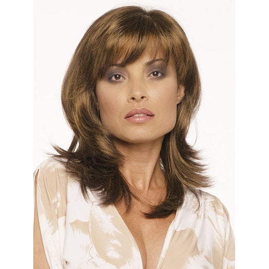 Nadia by Envy - Synthetic, Monofilament Part Wig