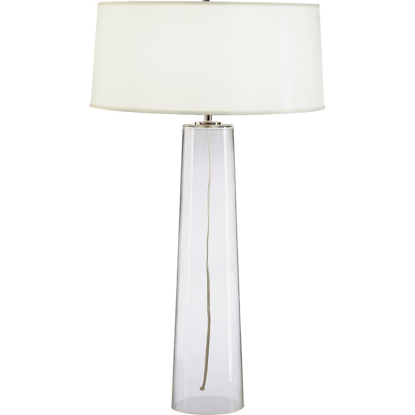 Robert Abbey 1579w One Light Table Lamp Rico Espinet Olinda Clear Glass One Size Overstock 32453534