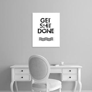Easy Art Prints Jan Weiss's 'Get Stuff Done' Premium Canvas Art