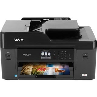 Brother Mfcj6530dw Multifunction Inkjet Printer, Duplex 4800 Dpi X 1200 Dpi Wire