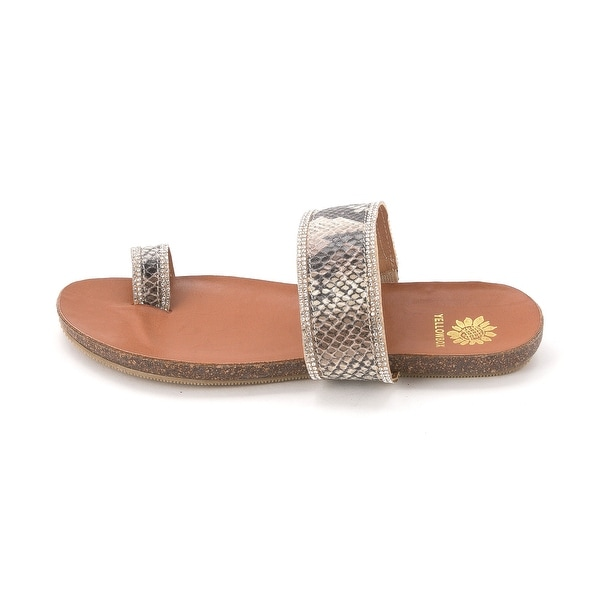 Yellow Box Womens IDELLE Open Toe Casual Slide Sandals - 5.5