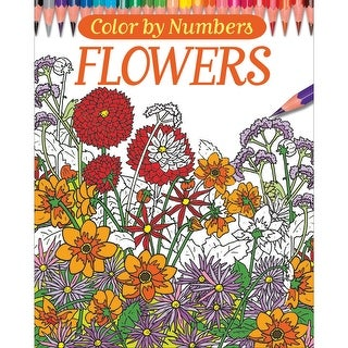 Chartwell Books-Color By Numbers - Flowers