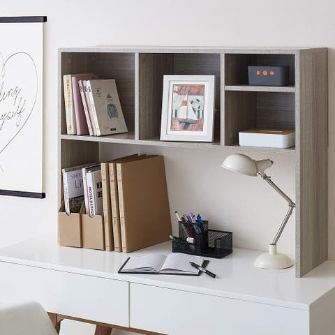The College Cube - Dorm Desk Bookshelf - Natural