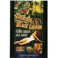 Creature Black Lagoon Poster Cling Halloween Decoration