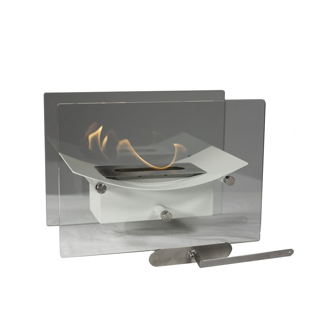 Sunnydaze Zen Ventless Tabletop Bio Ethanol Fireplace, Options Available - Thumbnail 5