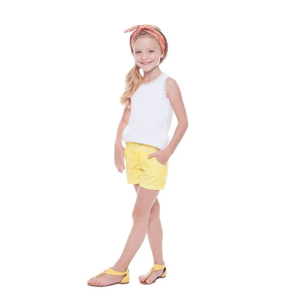 Pulla Bulla Toddler Girls' Solid Shorts