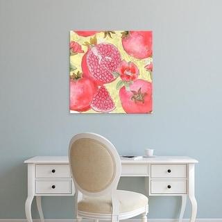 Easy Art Prints Leslie Mark's 'Pomegranate Medley II' Premium Canvas Art