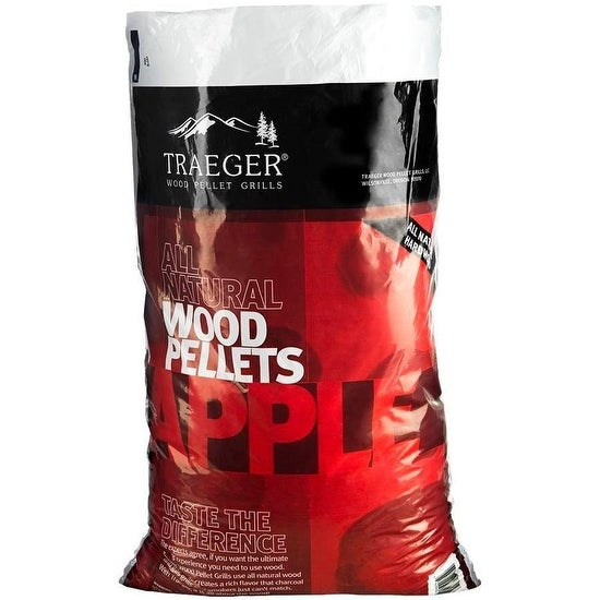 Traeger PEL318 Apple Wood Pellets, 20 Lbs