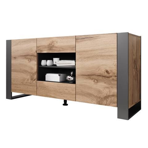 """Woody Modern 64.5"""" Sideboard"""