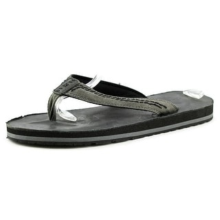 Bed Stu Seabass Open Toe Canvas Flip Flop Sandal