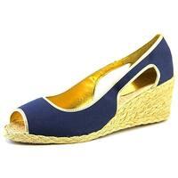 Ralph Lauren Womens CHARLOTTE Peep Toe Casual Espadrille Sandals