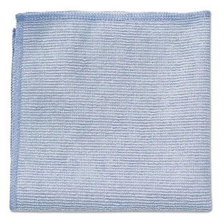 Rubbermaid Commercial 12 x 12 in. Microfiber Cleaning Cloths - Blue