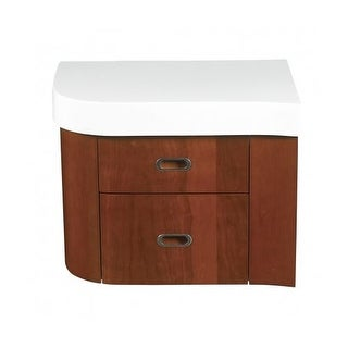 "DecoLav 5605-3 23"" Casaya Left Drawer with Top for use with 5605-1 Vanity"