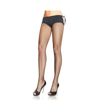 Black Plus Size Fishnet Stockings