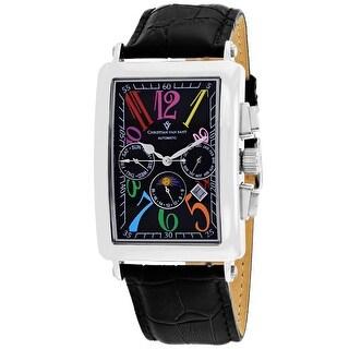 Christian Van Sant Men's Prodigy CV9132 Black Dial Watch