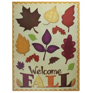 17 Thanksgiving and Fall Themed Window Cling Decorations