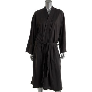 2xist Womens Mesh Knit Modal Blend Wrap Robe - L/XL