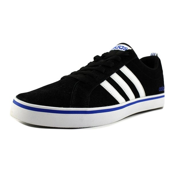 Adidas Pace Plus Men Round Toe Suede Black Sneakers