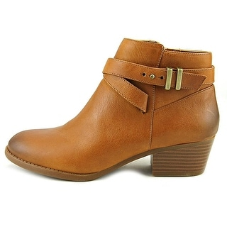 Easy Street Womens reed Leather Almond Toe Ankle Fashion Boots Tan Size 9.5 L6