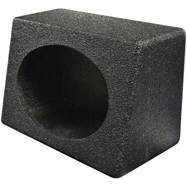 Qpower Empty 6x9 BoxQ Bomb (Black Bedliner Poly Coated)pairs