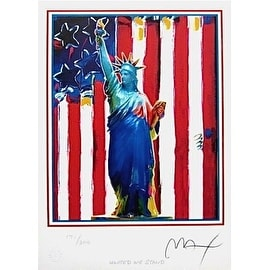United We Stand, Ltd Ed Lithograph, Peter Max