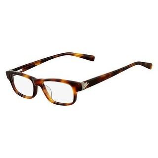 Nike Unisex Eyeglasses 5518-201 Tortoise Square Full Rim Frames
