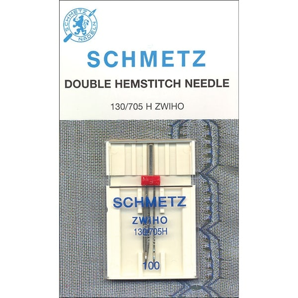 Double Hemstitch Machine Needle-Size 16/100 1/Pkg