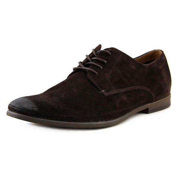 Aldo Giulio Men Round Toe Suede Brown Oxford