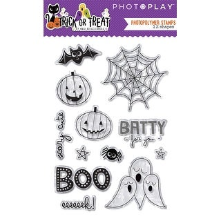 Trick Or Treat - Photoplay Photopolymer Stamp