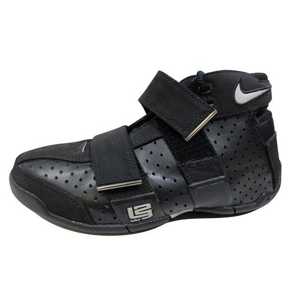best website 30fa3 61654 Nike Grade-School Air 20 5 5 Black Medium Grey-Black 311421-