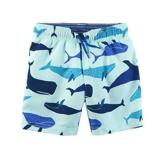 Carter's Baby Boys' Whale Swim Trunks