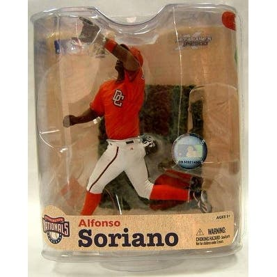 Washington Nationals McFarlane MLB Series 21 Figure: Alfonso Soriano (Variant) - multi