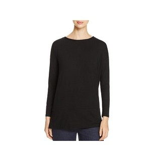Eileen Fisher Womens Petites Casual Top Tunic Bateau Neck (2 options available)