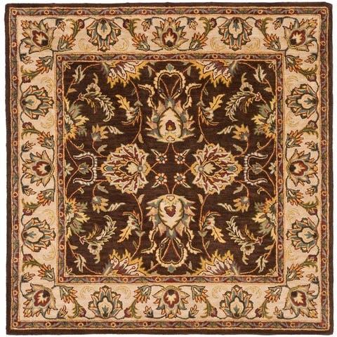 SAFAVIEH Handmade Heritage Jenilee Traditional Oriental Wool Rug