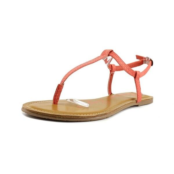 American Rag Akrista Women Open Toe Synthetic Pink Thong Sandal