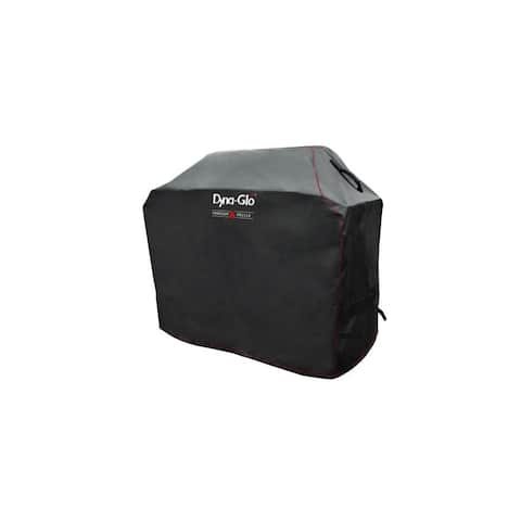 """Dyna-Glo DG400C 52"""" Wide Grill Cover for use with 4 Burner Grills - Black"""