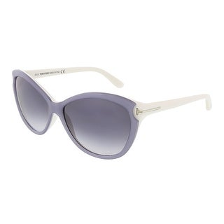 Tom Ford FT0325/S 20W Telma Light Grey Cateye Sunglasses - Light grey - 60-14-135