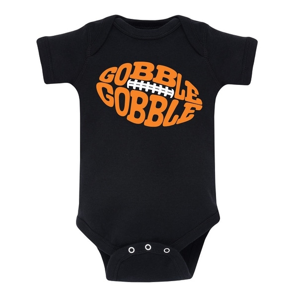 ce1a1952a Shop Gobble Gobble Football - Infant One Piece - On Sale - Free Shipping On  Orders Over $45 - Overstock - 22902052
