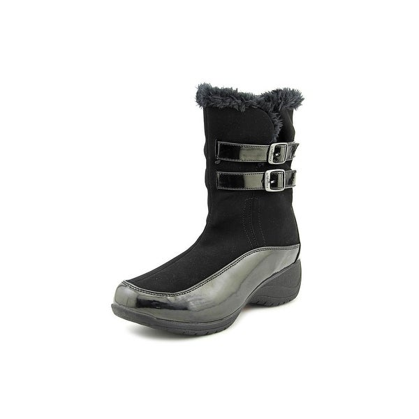 Khombu Spice Round Toe Synthetic Winter Boot